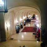 Entrata vista dalle scale