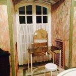 Area specchio del bagno