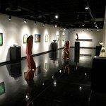 Gallery with local art for sale at The Art Center of Corpus Christi