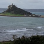 View of St Michael's mount from room