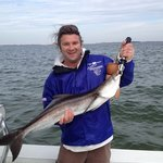 Cobia are here through February in Tampa