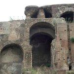 Um dos palácios imperiais romano no Monte Palatino