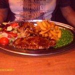 my husbands steak !!!!...superb food fantastic prices