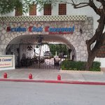 front gate to resort