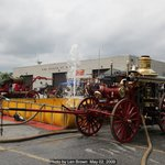 Steam fire engine shows the first weekend in May, Motorized shows in September every year