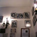 vista de la decoración del comedor