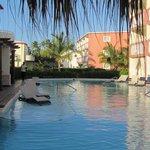 Walkout pool at cabana suite