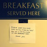 Место для завтрака
