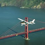 Fly over Golden Gate.