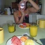 A light breakfast on Day 1