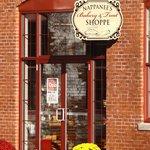 Entrance to Nappanee Bakery