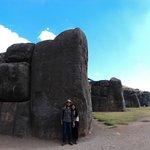 Maior pedra do Sitio, pontas do raio (visto do alto)