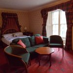One of Atholl Arms Hotel bedrooms
