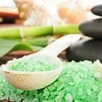 Sea salt treatment has many positive qualities and one of which it's great for skin exfoliation