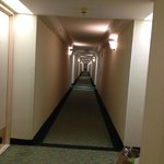 I had two long halls to get to my room - request a room close to elevator is avoiding the walk