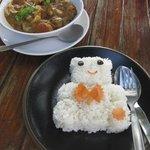 Lunch at monkey island