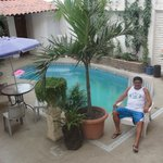 Relax total en el área recreativa