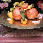 serving fruits of the season