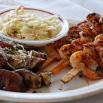 Blackened Grilled Shrimp Skewers