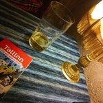 Estonian beer and cozy decoration