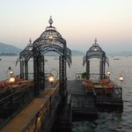 Launch pontoon from Udaipur to hotel