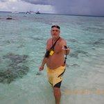 snorkel en aguas transparentes