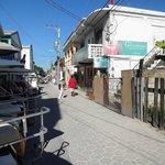 San Pedro & fresh produce market on rt.(green Sign)