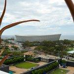 Estádio da Copa, vista da piscina.