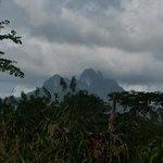 View of Cerro Trinidad from the InterAmericana Highway