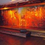Stage in Cabaret-Diner @ Alvaston Hall (January 2014)