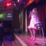 'Evah Morgan' on stage at Motown/Soul Break @ Alvaston Hall