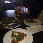 delicious pizza at Otto!