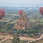 Balloons over Bagan