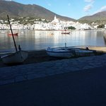View across the bay to the village of Cadaques