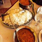 Chicken madras rice basmati