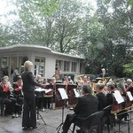 Concert Band playing in the Summer