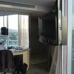Room looking towards desk