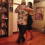 My tango lesson wih Ruben