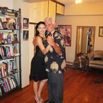 My tango lesson with Ruben