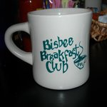 You can buy a souvenir mug to memorialize your visit