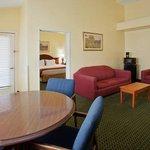 Jacuzzi Suite Living Area