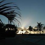 Le soleil qui se couche après une journée bien remplie