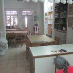 朝食会場兼、共用キッチン