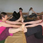 Yoga that makes you laugh out loud