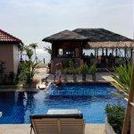 Peace Paradise Pool Access room