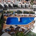 utsikt från hotell Bonanza våning 8
