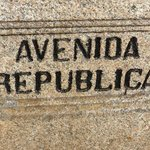 Avenida da Republica - sign