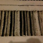 The vents are nasty and a bit sketchy