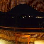 バルコニーからの夜景