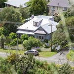 Fernview Cottage from the top of Victoria Domain